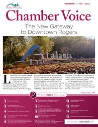 Frank Sharum Landscape Design Chamber Voice Newsletter December 2016 By Rogers Lowell