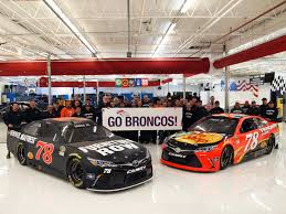 PRESS RELEASE – Bron ania Extends to Furniture Row Racing