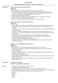 Sales Distribution Resume Samples Velvet Jobs