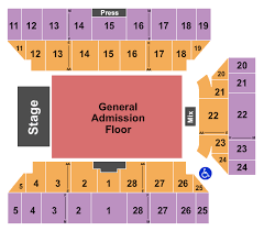 Floyd L Maines Arena Seating Chart Five Finger Death Punch Tickets Wed Jul 24 2019 7 30 Pm At