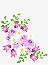 Watercolor Flower Clipart Free Download Vector Black Clip Art