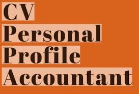 Cv Personal Profile Examples Cv Personal Profile Example For Accountant Learnist Org
