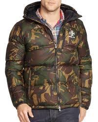 Ralph lauren Polo Rlx Camo Ripstop Down Jacket in Green for Men | Lyst