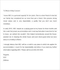 Personal Letter Of Recommendation Sample For A Friend 8 How To Write
