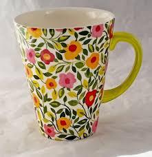 J Parker Design Mugs Spode Kim Parker Home Emmas Garland Zinnia Ceramic Floral