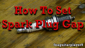 How To Set Spark Plug Gap In Any Engine