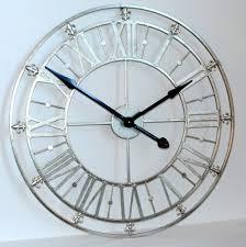 Small Picture Large Mirrored Wall Clock Mirror Wall Clock Photo Wall Clocks