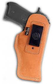 premium suede leather inside the waistband holster iwb with closed bottom