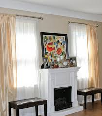 patio curtain rod images