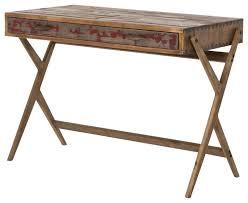 reclaimed office desk. midcentury reclaimed pine home office desk desksandhutches