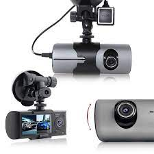 Camera hành trình Ckleva R300 ống kính kép hỗ trợ GPS