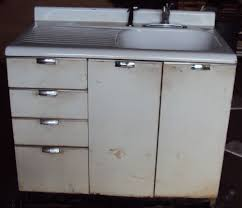 Vintage kitchen sink cabinet Cast Iron Vintage Kitchen Sink Cabinet Enamel Steel Drawers Ebay Metal Pull Out Drawers For Kitchen Cabinets Coopwborg Vintage Kitchen Sink Cabinet Enamel Steel Drawers Ebay Lancaster