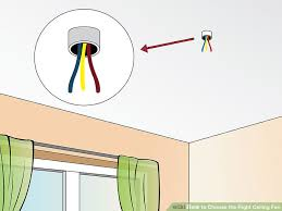 image titled choose the right ceiling fan step 3