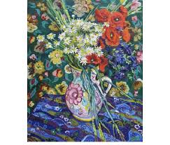most famous paintings poppy flowers