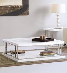 london collection modern white square