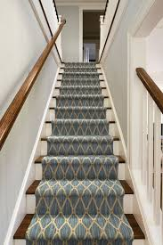 Patterned Stair Carpet New We Love A Bold Patterned Carpet On A Staircase Carpetiscool