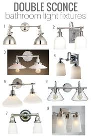 perfect vintage style bathroom lighting top picks double sconce bathroom lighting satori design for living