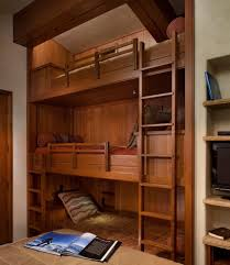 Built In Bunk Beds Floating Bunk Beds Kids Rustic With Built In Drawers Rustic Wall