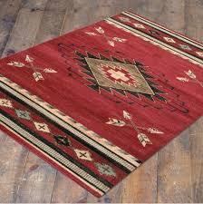 southwestern area rug red arrowhead southwest cabin lodge rugs tucson southwestern area rug