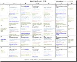 Diabetes Meal Planning Pdf Happy New Year 2012 Monthly Meal Plan Confessions Of A