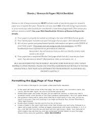 How To Write A Research Paper Using Mla Format 2018 10 Mla Style Rules Mla Format Research Papers Paper Checklist