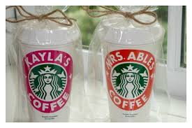 personalized starbucks coffee cup what