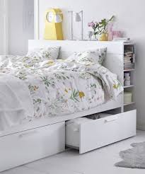 ikea brimnes bed. Keep Your Bedroom Organized With Hidden Storage! The IKEA BRIMNES Bed Frame Has Four Large Ikea Brimnes S