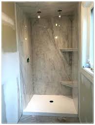 cultured marble shower pan tile over floor restoration service