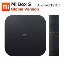 Xiaomi Mi Box S 4K TV Box Cortex A53 Quad Core 64 bit Mali 450 1000Mbp  Android 8.1 2GB+8GB HDMI2.0 2.4G/5.8G WiFi BT4.2 Latest|Set-top Boxes
