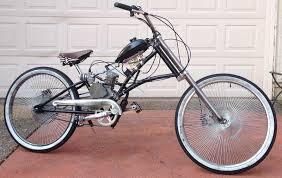 chopper bicycle frame