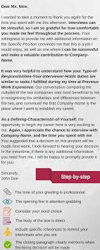 Best 25 Interview Thank You Letter Ideas On Pinterest Interview