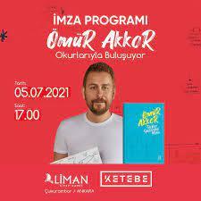 """Liman Kitap - Dünyanın en prestijli yemek kitapları ödüllü Şef Ömür Akkor,  5 Temmuz Pazartesi saat 17.00'de Liman Kitap Kahve'de yeni kitabı """"Türkiye  Gastronomi Atlası""""nı imzalıyor! #ÖmürAkkor #TürkiyeGastronomiAtlası #Ketebe  #KetebeYayınları ..."""