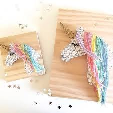 unicorn string art string art ideas wall decor diy