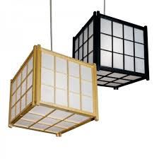 japanese o rice paper ceiling lighting natural