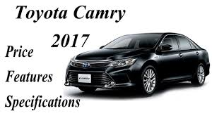 Toyota Camry Car 2017 Price,Features,Specifications and wallpapers ...