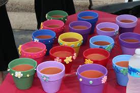 Paper Flower Pots Quilled Flower Pots