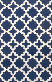 modern rug patterns. Rugsville Star Trellis 10594 Navy Wool Rug Modern Patterns