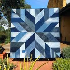 Blue Giant denim quilt pattern from upcycled jeans | Denim quilt ... & Masculine Quilt Patterns Download Blue Giant Quilt Pattern Star Block  Modern Quilt Pattern Made From Recycled Adamdwight.com