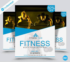 Gym Flyer Template Psd - Psd Free Download