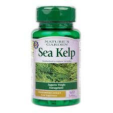 natures garden sea kelp tablets
