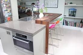 Island Incorporating Microwave Oven Dishwasher Sink And Kitchen