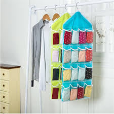 hanging door closet organizer. Multifunction 16 Pockets Socks Shoe Toy Underwear Sorting Storage Bag Door Wall Hanging Closet Transparent Organizer Hot Selling-in Bags From Home Y