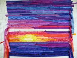 101 best Art/Landscape Quilts images on Pinterest   Landscape ... & Cathy Geier's Quilty Art Blog: Sunset still in progress Adamdwight.com
