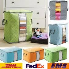 2018 Quilt Storage Bag Portable Prganizer Non Woven Clothing Pouch ... & 2018 Quilt Storage Bag Portable Prganizer Non Woven Clothing Pouch Holder  Blanket Pillow Underbed Storage Bag Clothing Storage Bags Wx B18 From  Starhui, ... Adamdwight.com