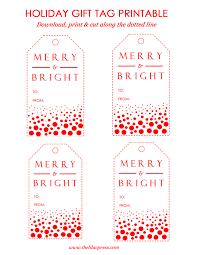 The Lilac Press Holiday Gift Tags Free Printable