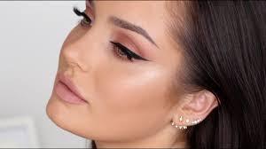 updated neutral glam makeup tutorial chloe morello