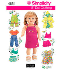 18 Doll Clothes Patterns Awesome Design