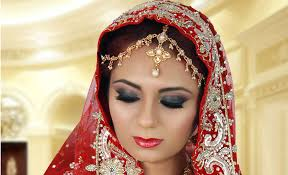 black smokey eye indian bridal makeup tutorial for asian stani arabic weddings reception