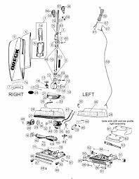 oreck u4140 parts list and diagram ereplacementparts com Oreck XL Parts List Oreck Xl Motor Wiring Diagram #29