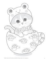 Teacup Kittens Kayomi Harai Kleuren Kleurplaten Mensen Tekenen